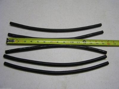 Sell 1/4 Inch ID J30R7 Fuel Hose Five 15 Inch Pieces 0913 motorcycle in Big Sandy, Tennessee, United States, for US $7.00
