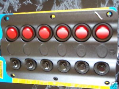 Buy LED SWITCH PANEL 50-12331 6 SWITCHES 12 VOLT PANEL LED MARINE ELECTRICAL BOAT motorcycle in Osprey, Florida, US, for US $49.95