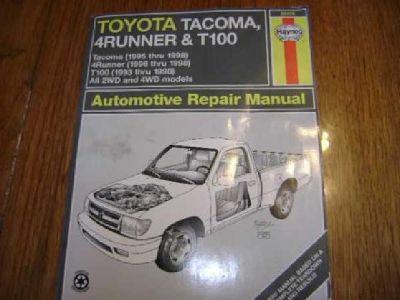 $10 Toyota Automotive Repair Manual