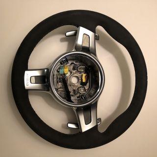 Porsche 911 991 PDK Paddle Sport Design Alcantara Steering Wheel