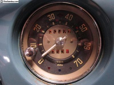 [WTB] Original VW bus trip speedometer MPH