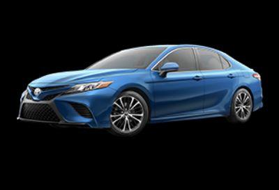 2019 Toyota Camry SE (Blue Streak Metallic)