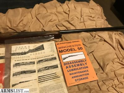 For Sale: Winchester model 50 semi-auto 12ga $200obo