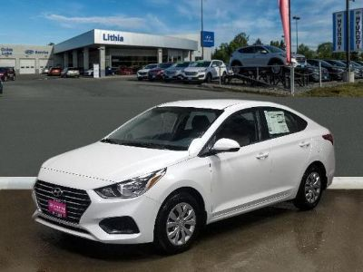 2019 Hyundai Accent (Frost White Pearl)