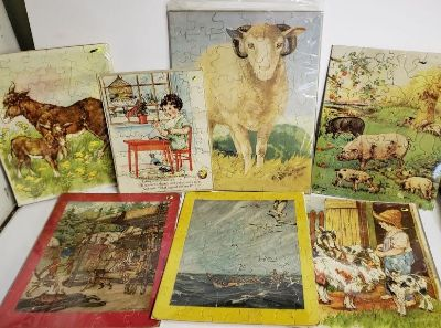 Lot of Vintage Puzzles
