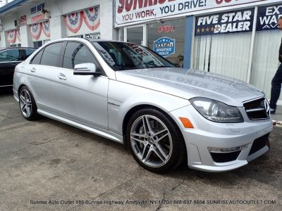 2012 Mercedes-Benz C-Class C63 AMG (Iridium Silver Metallic)