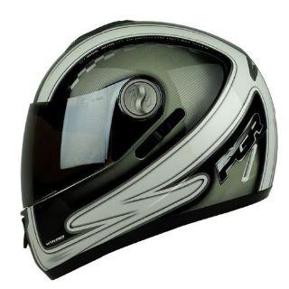 Buy S M L XL ~PGR CHAMPION Honda Silver Dual Visor Full Face DOT Motorcycle Helmet motorcycle in Chino, California, US, for US $1.25