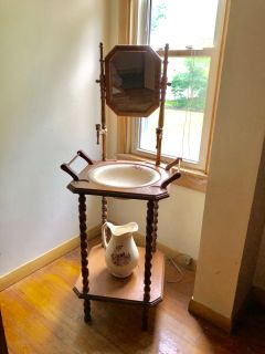 Antique wash basin stand.