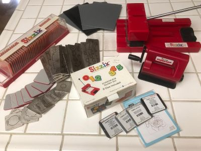 SIZZIX Die Cutter with Sidekick and Accessories for Scrapbooking