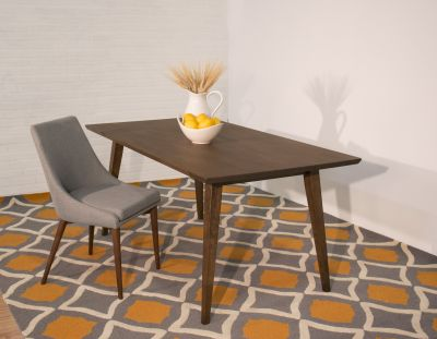 Mid Century Modern Solid Wood Adira Dining Table