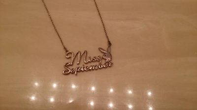 Playboy Miss September necklace