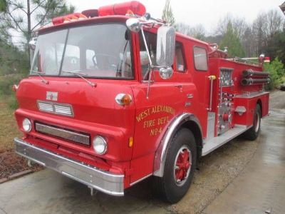 1975 GMC Cab Over Fire Truck