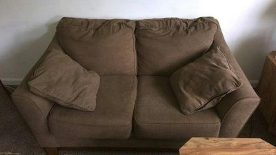 love seat has matching sofa for $75