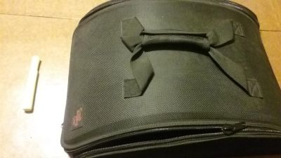Pampered Chef Black Domed Insulated Carrier Case