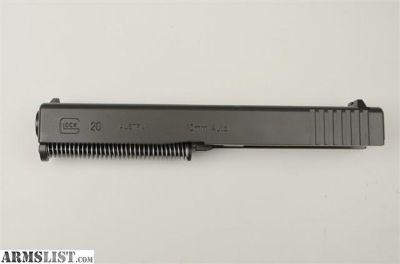 For Sale: NEW Glock 20 G20 upper slide assembly 10mm barrel