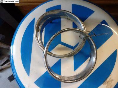 early beetle chrome speedometer speedo ring