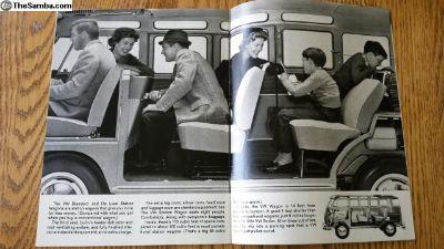 Ghia Bus Beetle Brochure What kind is it? 1964