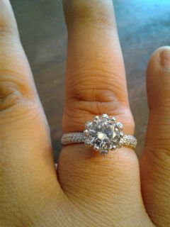 New White gold filled 2CT CZ ring (9)