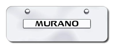 Buy Nissan Murano Name Chrome on Chrome Mini License Plate Made in USA Genuine motorcycle in San Tan Valley, Arizona, US, for US $29.87