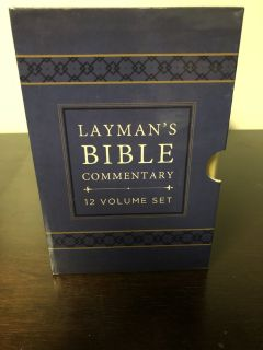 Layman's Bible Commentary 12 Volume Set (2014,Bonded Leather)