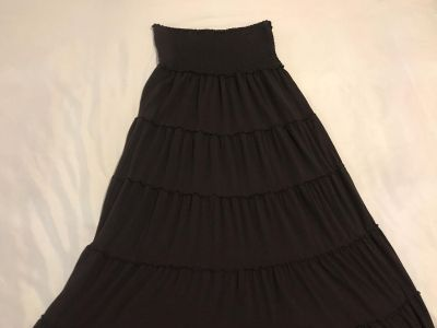Old Navy Long Skirt and/or Tube Dress. Size Small. Polyester/Rayon. EUC