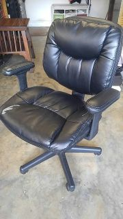 office computer chair leather adjustable