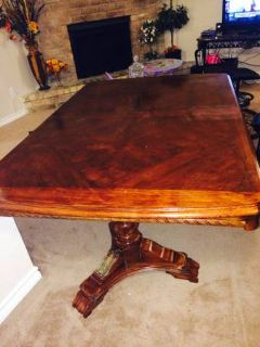 WOODEN DINING TABLE FOR SALE Make me an offer
