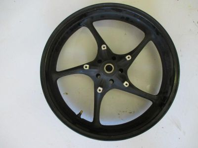 Purchase 2006-2007 YAMAHA YZF R6 V YZFR6 FRONT WHEEL WHEELS RIM RIMS motorcycle in Cedar Springs, Michigan, US, for US $299.00