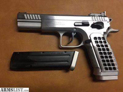 For Sale: Tanfoglio Limited Pro 9mm DA pull - 3# 6oz SA pull - 1# 5oz