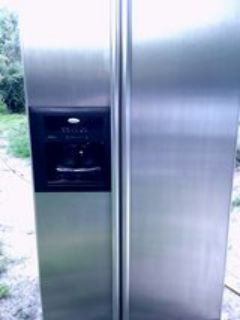 I'm selling a very nice Whirlpool stainless steel refrigerator