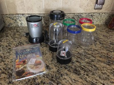 Magic Bullet set- Brand New with recipe book
