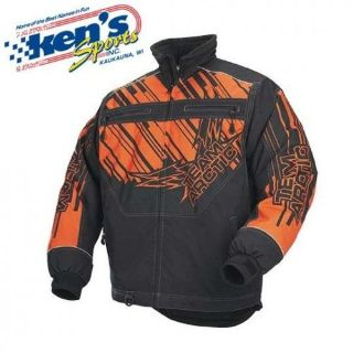 Buy ARCTIC CAT Men's Orange ZONE PREMIUM Snowmobile Jacket 5240-43_ motorcycle in Kaukauna, Wisconsin, United States, for US $129.95