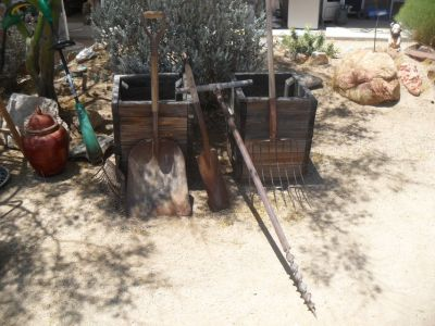 === Assorted Yard Art Tools ===