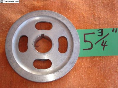 Aluminum Degree Sand Seal Pulley