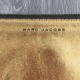 Marc Jacobs Gold Clutch or Multi-Use Bag