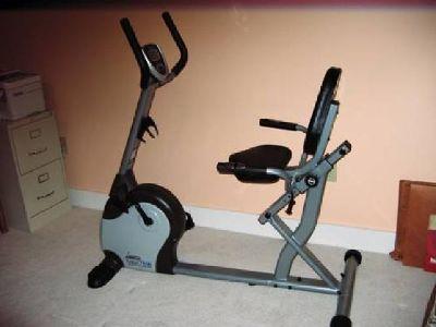 $275 Stationary Exercise Bike Recumbent - Stamina Fusion 7100