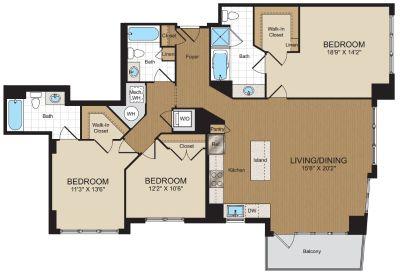 $9480 3 apartment in Reston