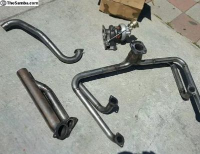turbo pipe kit for type 4 engine in a bug