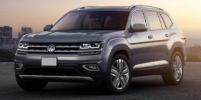 2019 Volkswagen Atlas 3.6L V6 SE w/Technology R-Line (Deep Black Pearl Metallic)