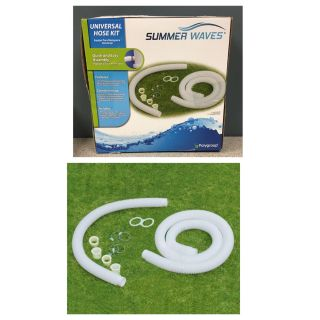 Summer Waves Universal Hose Kit for Above Ground Swimming Pools