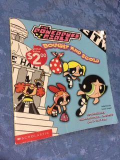Powerpuff girls book