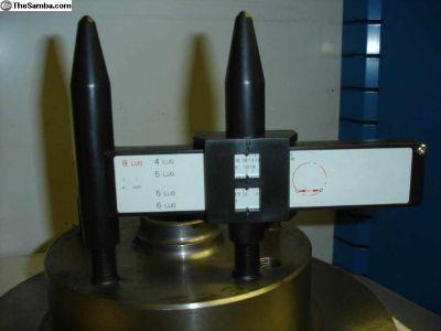 Drum Rotor Wheel Lug Pattern Gauge Tool