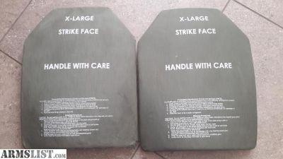 For Sale: SAPI ESAPI Bulletproof Ceramic Body Armor Ballistic Plates for Plate Carrier Vest
