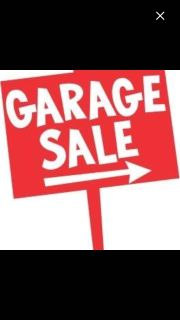 GARAGE SALE TODAY, FRIDAY, SATURDAY