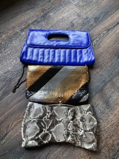 Clutch purses $2 each. All for $5