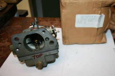 Find NEW MERCURY OUTBOARD CARBURETOR 1379-6071A53 TOP CARBURETOR 50 HP motorcycle in Scottsville, Kentucky, United States, for US $129.99