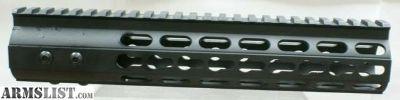 "For Sale: Slim Design Free Float Keymod Hand Guard 10"""