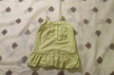 Yellow DKNY 18 months Tank Top
