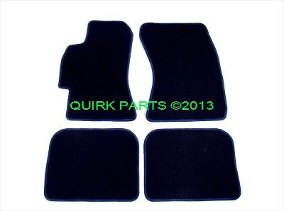 Purchase 2006-2009 Subaru Legacy Spec B GT Carpeted Floor Mats Set of 4 OEM NEW Genuine motorcycle in Braintree, Massachusetts, US, for US $39.95