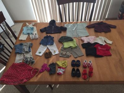 American Girl Doll with Outfits and Accessories